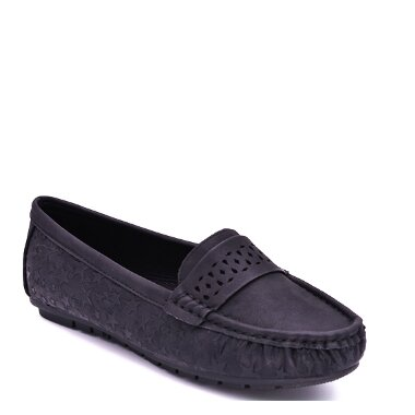 CASUAL FLAT SHOES LM328 black