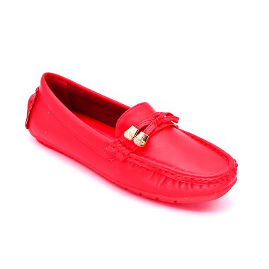CUTE FLAT LOAFER red