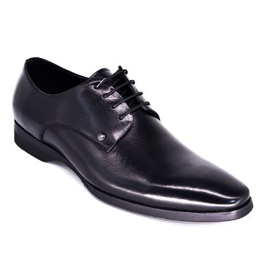 FORMAL BUSINESS MEN S LEATHER SHOES LB1005 black