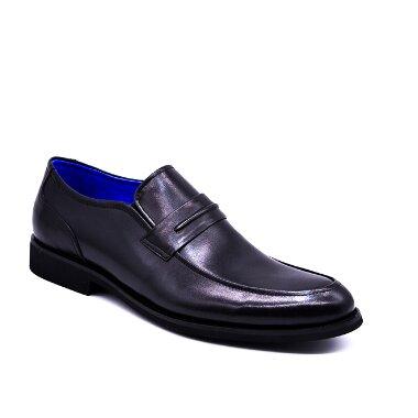 LINED SLIP ON SHOES black