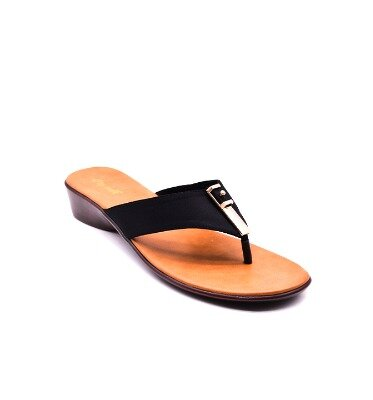 LOW HEEL FLATS FOR WOMEN black