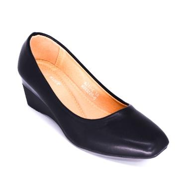 MORKIE PLATFORM BALLET FLATS CT572 black