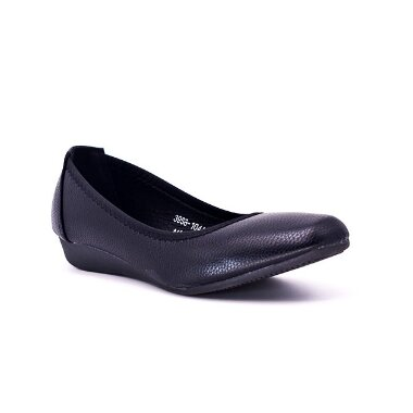 NUFOOT BALLET FLATS WOMENS SHOES black