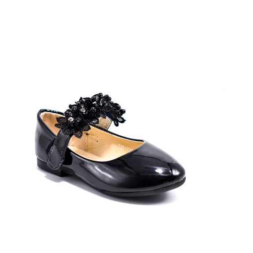 City doll KD1097 Mary janes with flower cross strap7