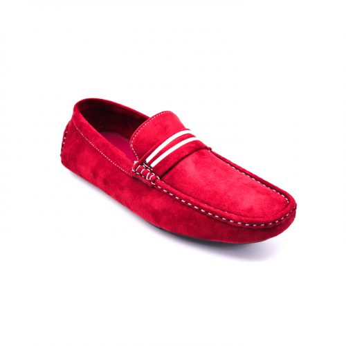 City safari LF0048 casual suede loafers driving shoes 2 1