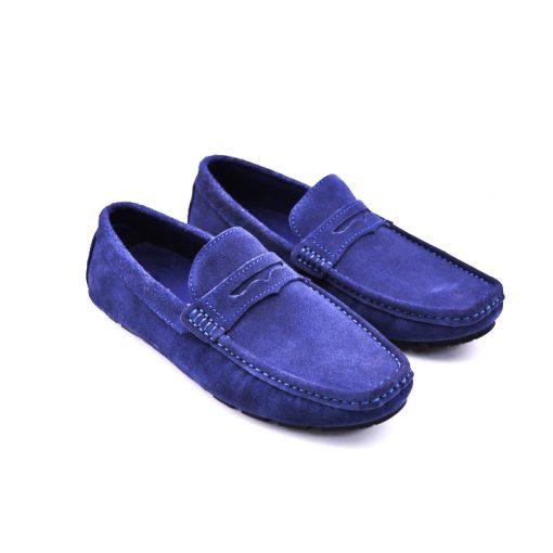 City safari LF0054 casual suede loafers 2 1