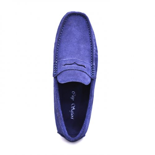 City safari LF0054 casual suede loafers 3 1