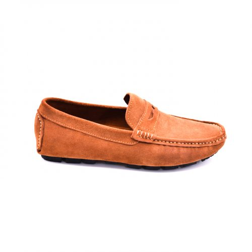 City safari LF0054 casual suede loafers 4 1