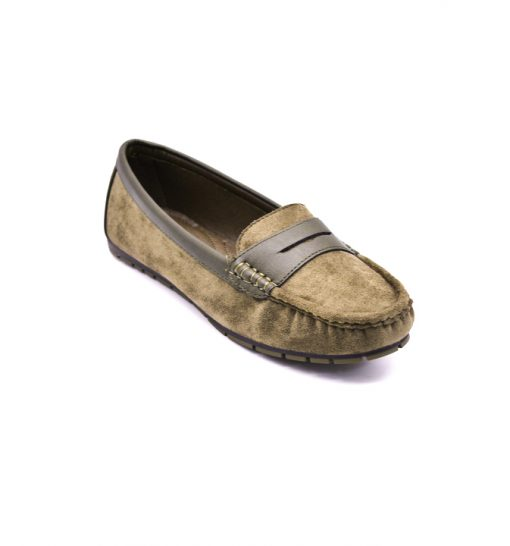 City safari LM341casual suede loafers 2