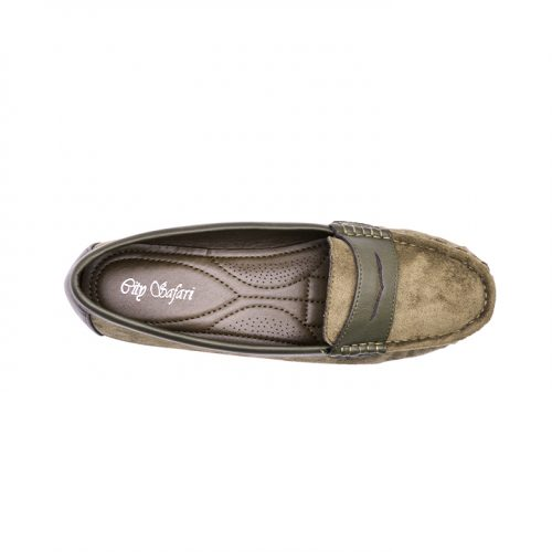 City safari LM341casual suede loafers 6
