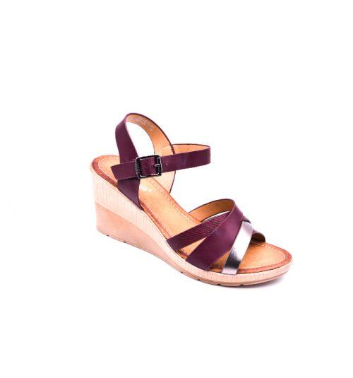 Citywalk CL997 ankle strap wedges 2