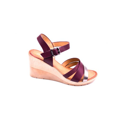 Citywalk CL997 ankle strap wedges 3
