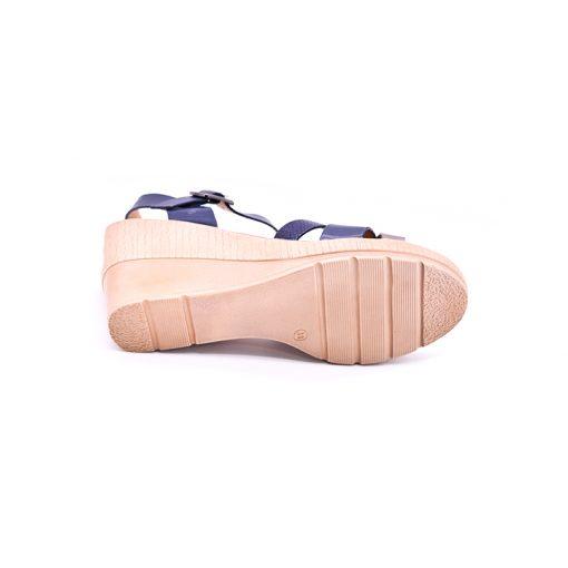 Citywalk CL997 ankle strap wedges 4