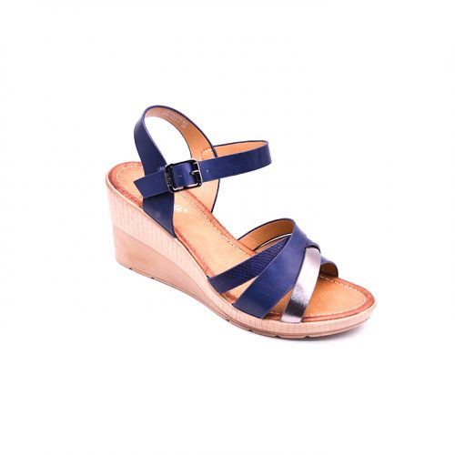 Citywalk CL997 ankle strap wedges 5