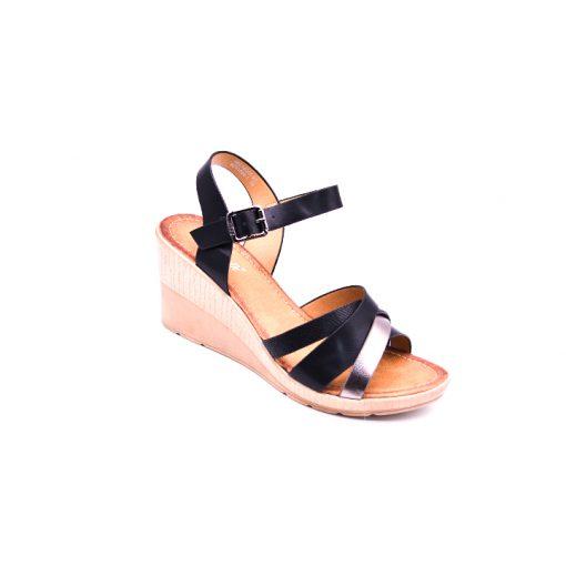 Citywalk CL997 ankle strap wedges