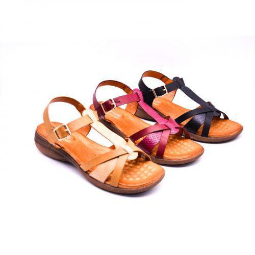 Citywalk CL999 ankle strap sandals 5