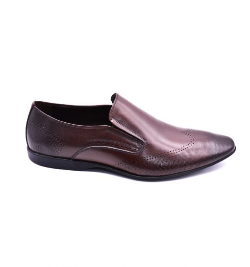 Citywalk LB1014 Official leather slip ons 4
