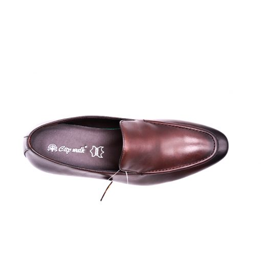 Citywalk LB1017 Official leather slip ons