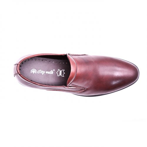 Citywalk LB1018 Official leather slip ons 3