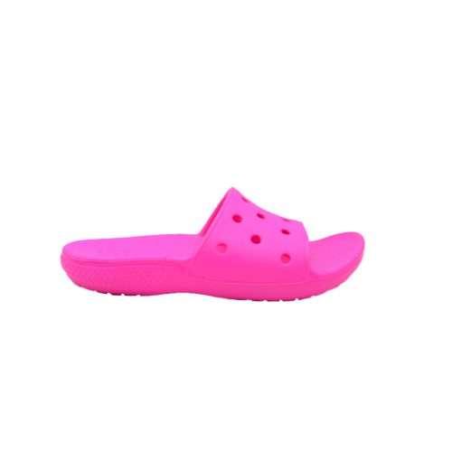 Pink Kids Crocs Slides for Kids