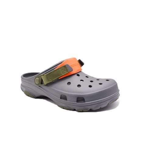 GREY Crocs ALL TERRAIN clogs