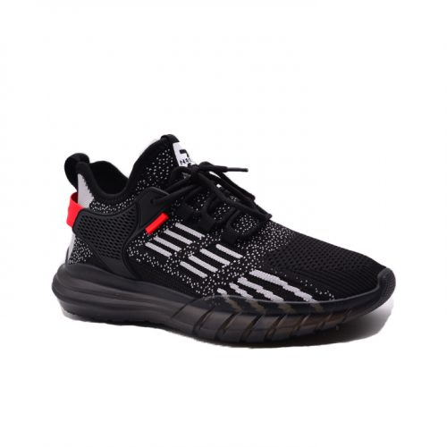 Black light weight sneakers